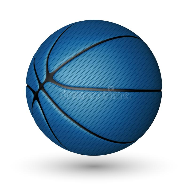 Free Basketball Ball Isolated On A White Background. Realistic Vector Illustration Royalty Free Stock Photo - 120990435