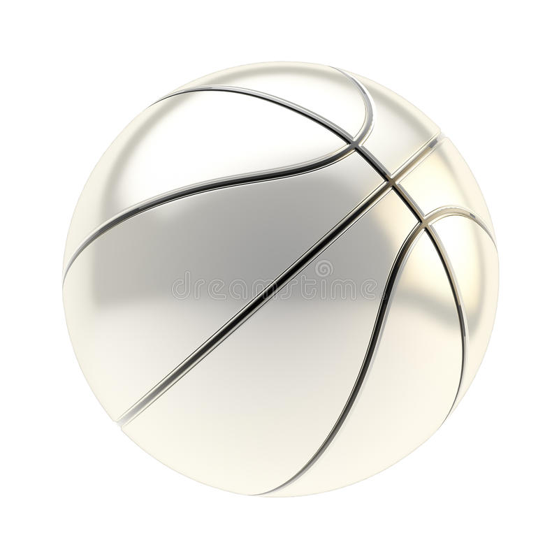 Free Basketball Ball Render Isolated Stock Image - 45022661