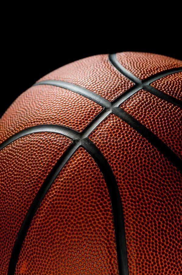 Basketball on black stock photos