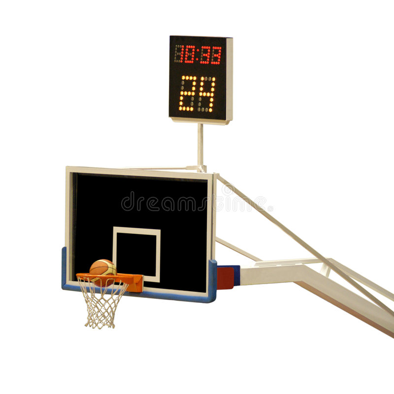 Basketball board stock images