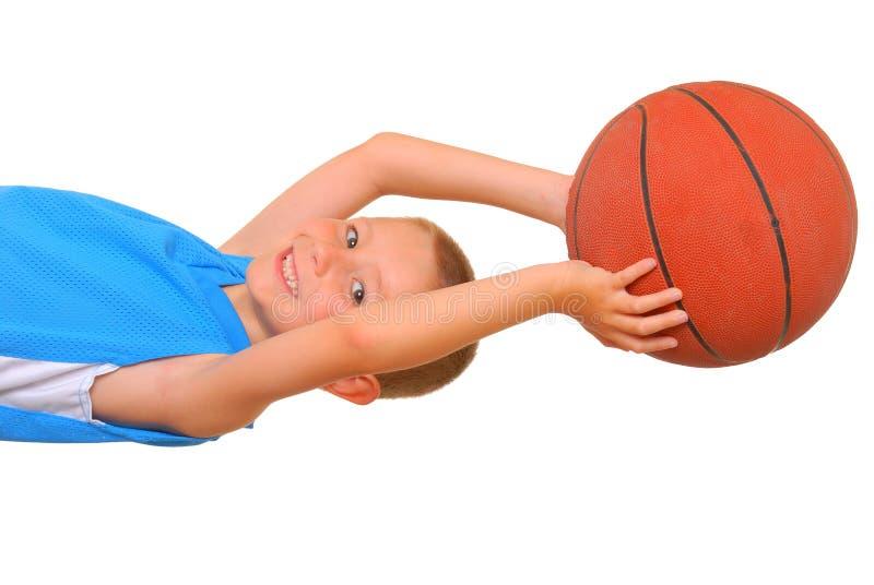 Basketball Boy royalty free stock photos