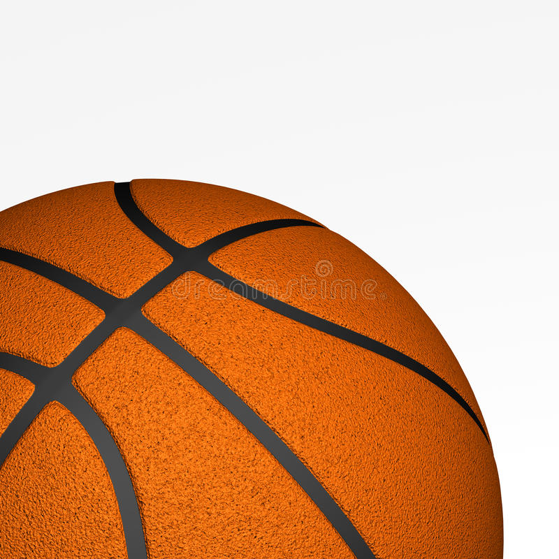 Download Basketball closeup stock illustration. Illustration of above - 18096073