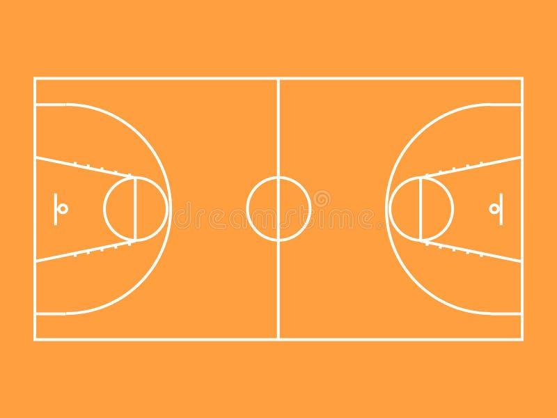 basketball court stock image image 14092291. Black Bedroom Furniture Sets. Home Design Ideas