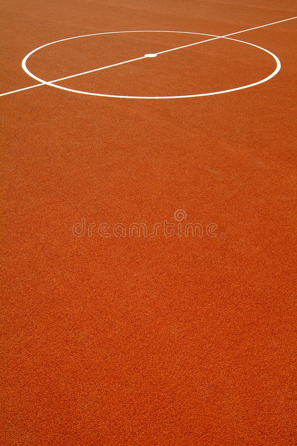 Basketball Court Royalty Free Stock Images