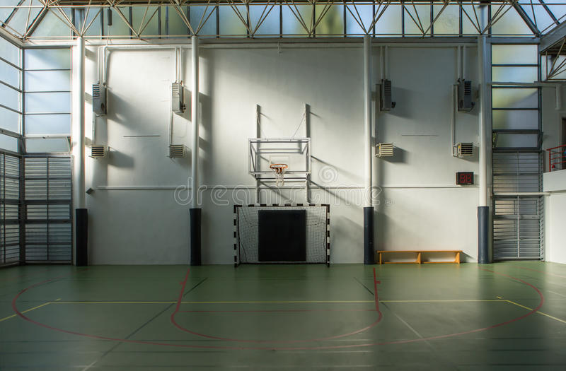 Download Basketball Court stock image. Image of floor, architecture - 28136183