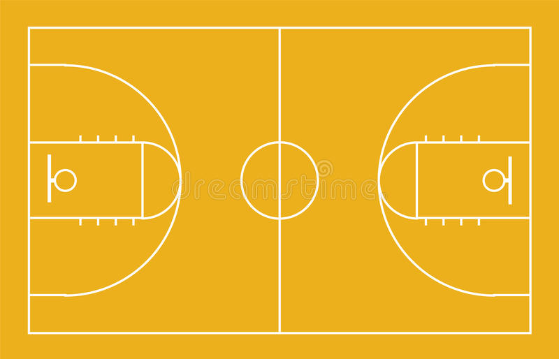 Basketball court background. Illustration of basketball court background stock illustration