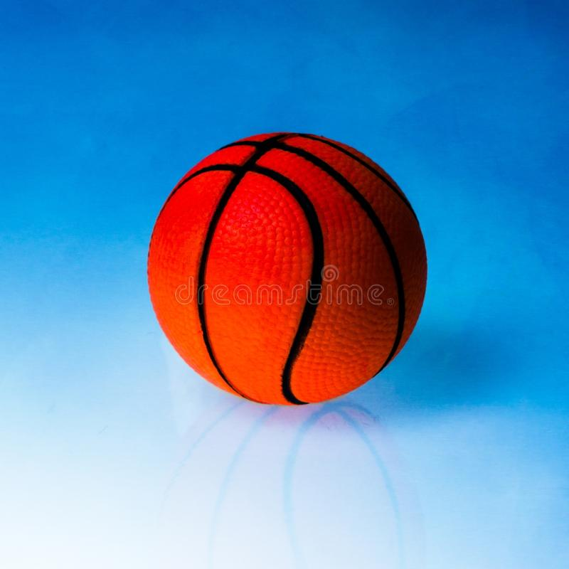 Basketball dummy ball stock photo