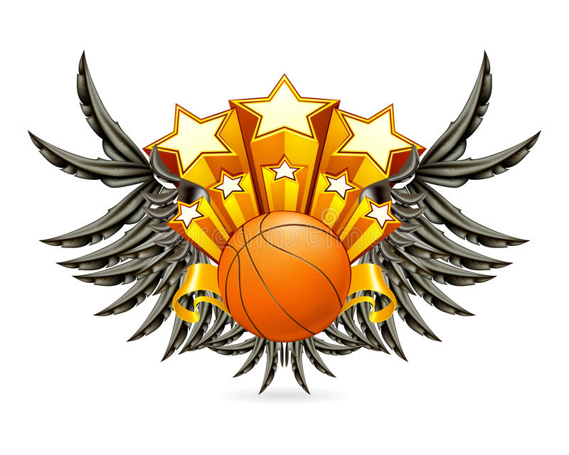 Download Basketball Emblem stock vector. Illustration of athletics - 20220109