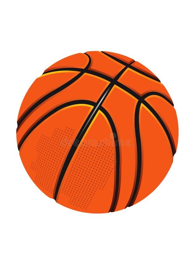Basketball.eps isolado ilustração royalty free