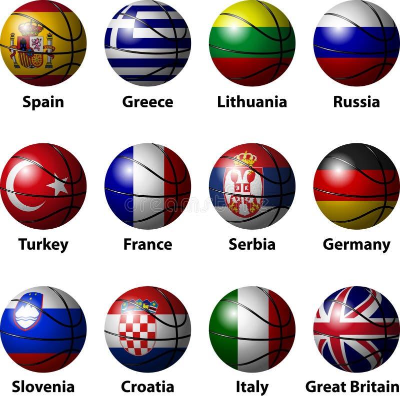 Basketball Europe Royalty Free Stock Photo