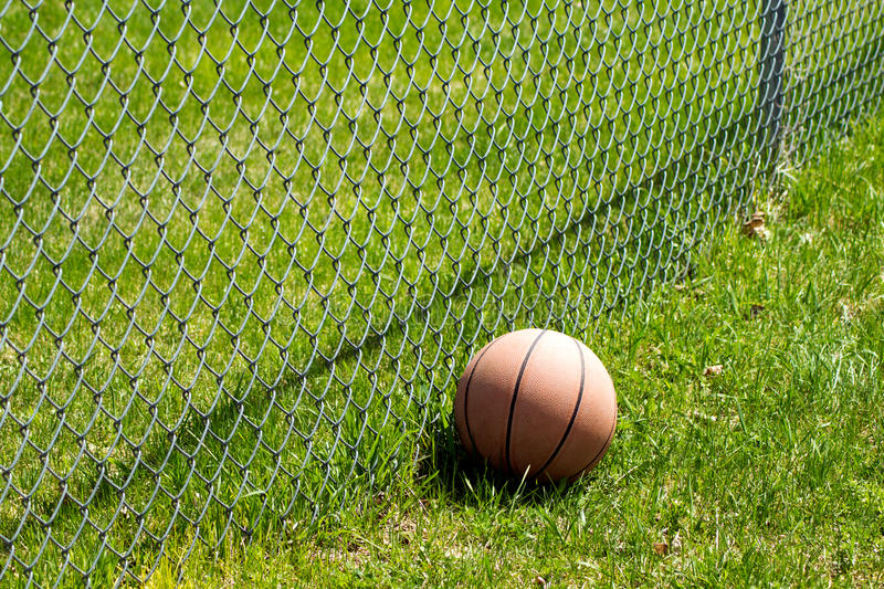 Download Basketball Fence stock image. Image of close, fence, basketball - 91656901