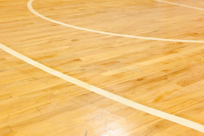 Wooden Floor Of Basketball Court Stock Image Image Of Indoor