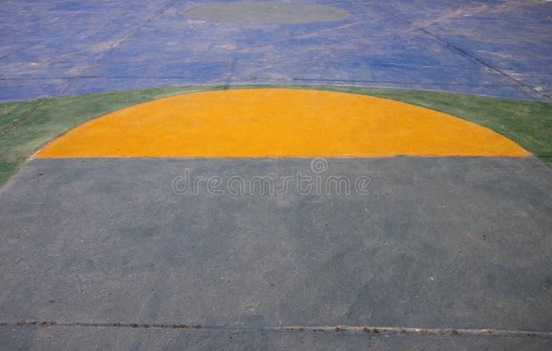 Basketball ground royalty free stock photography