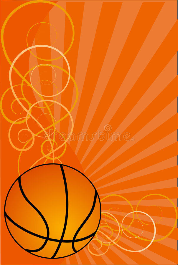 Basketball Hintergrundvektorabbildung vektor abbildung