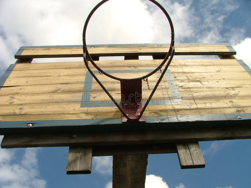 Download Basketball hoop stock photo. Image of game, clouds, board - 197330