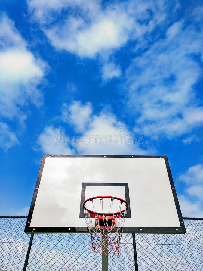Basketball Hoop royalty free stock images
