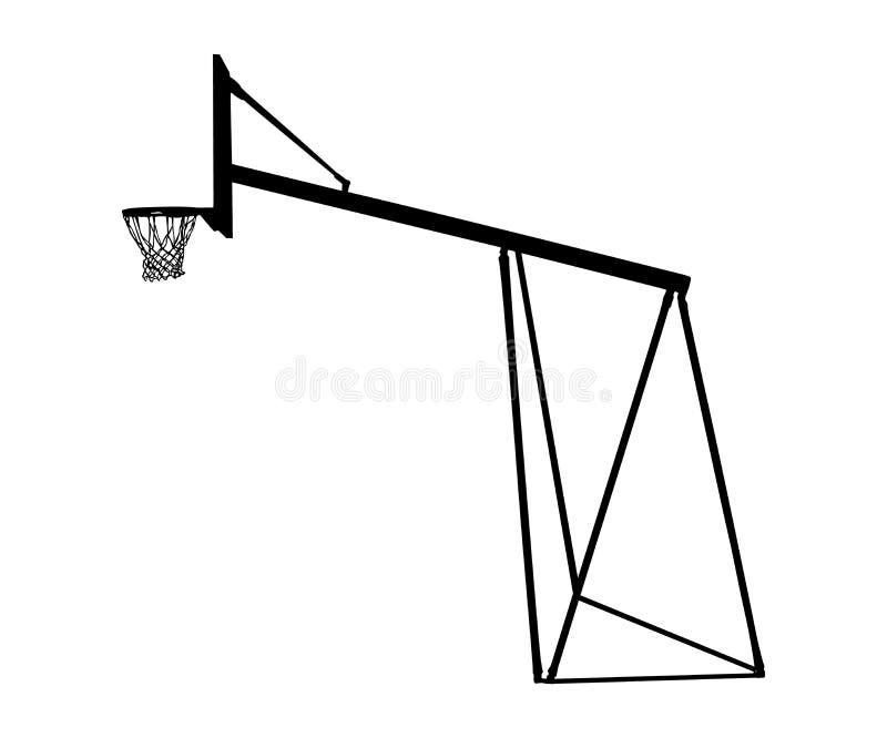 Basketball Court Ring Stock Illustrations
