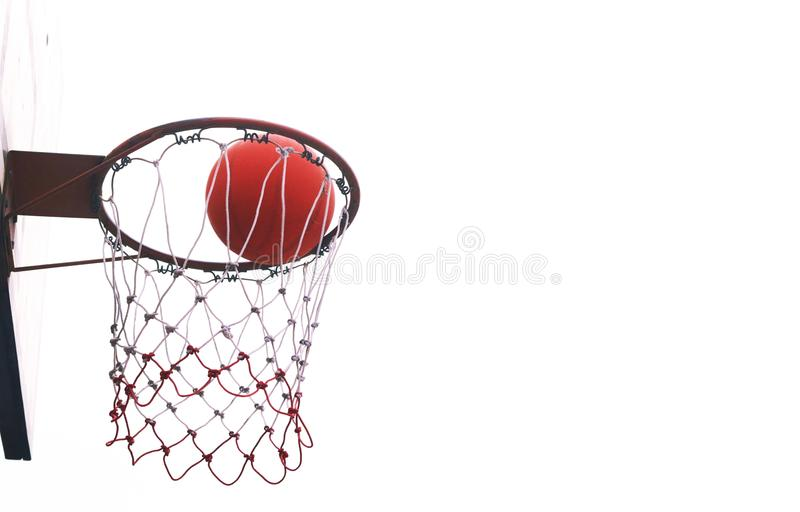Basketball hoops. royalty free stock photos