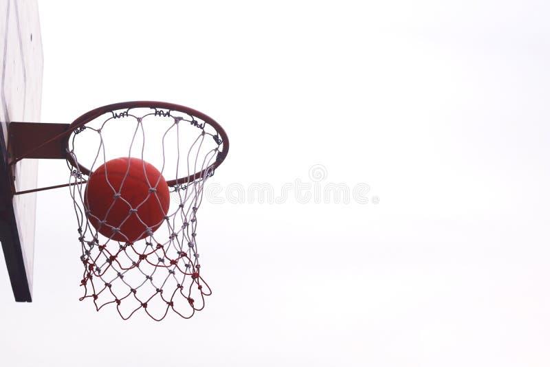 Basketball hoops. royalty free stock image
