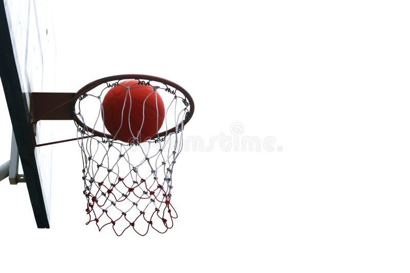 Basketball hoops. stock photo