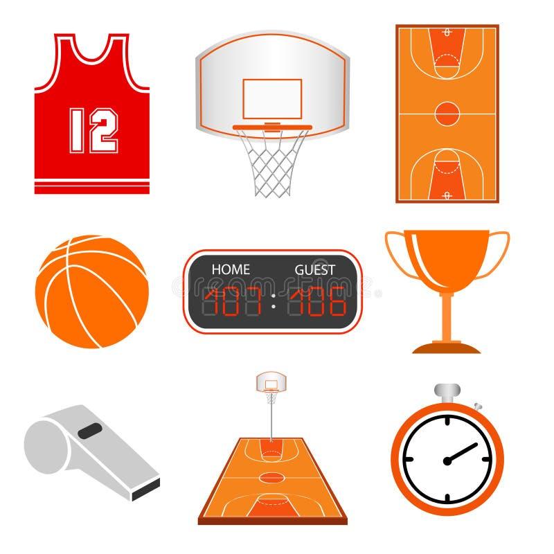 Free Basketball Icon Set Royalty Free Stock Images - 99223849
