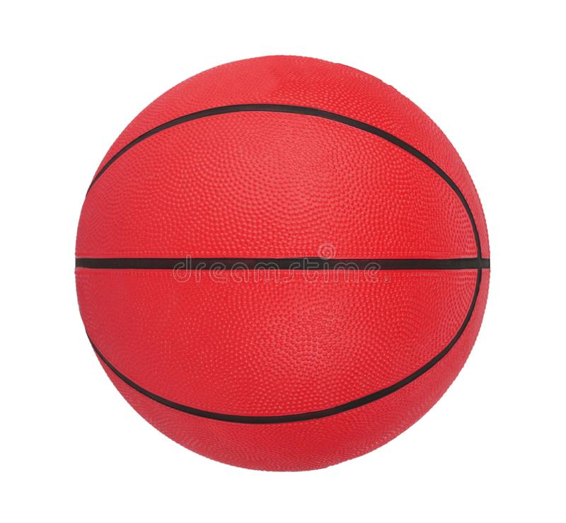 Basketball isolated royalty free stock photo