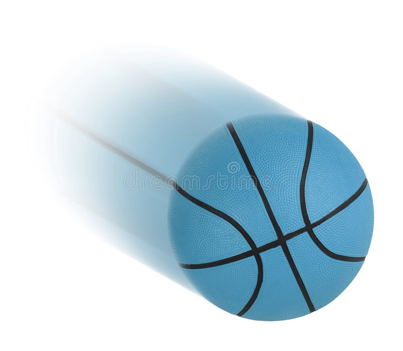 Basketball isolated royalty free stock image