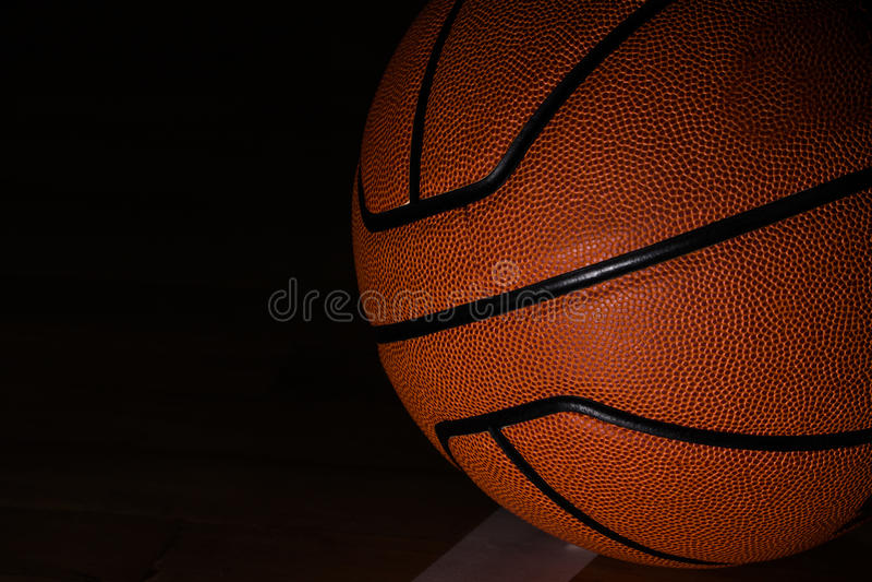 Basketball isolated royalty free stock photos
