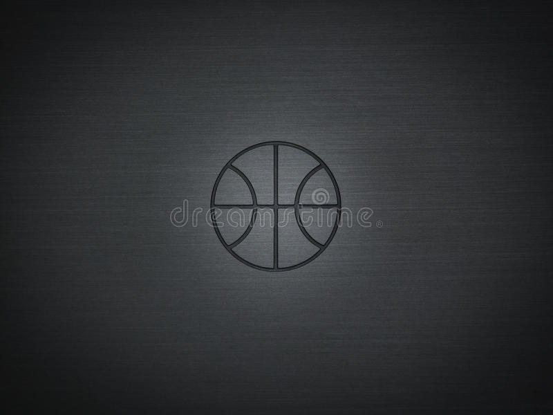 Basketball logo stock images