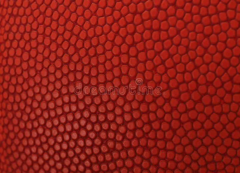 Basketball macro orange texture royalty free stock images