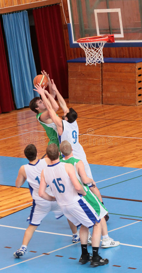 Download BASKETBALL MATCH Editorial Photo - Image: 12862131