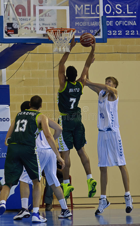Download Basketball Match, Cup Andalucia 2012 Editorial Photography - Image: 26564872