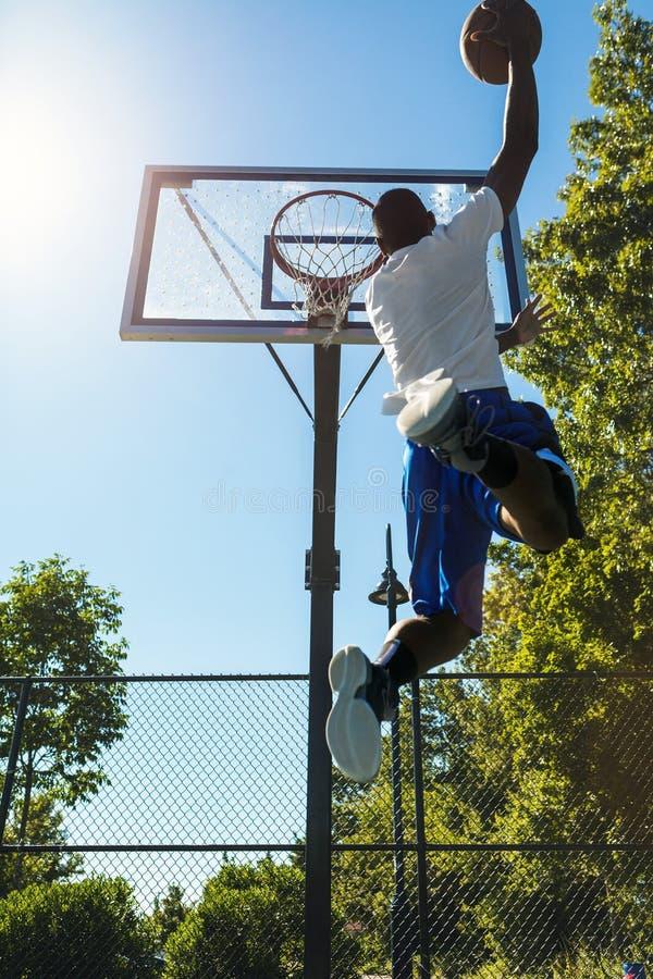 Basketball Monster Jam stock image