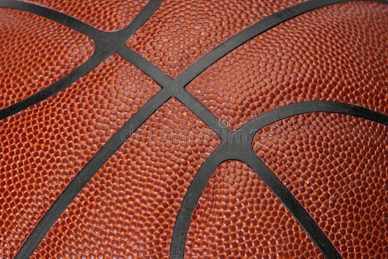 Basketball-Nähte stockfoto
