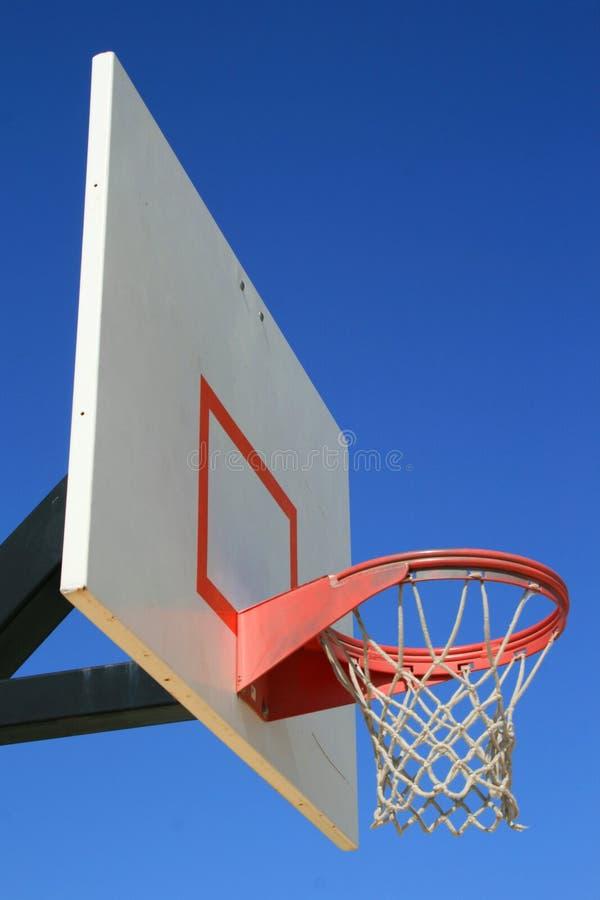 Basketball Net And Backboard Royalty Free Stock Photos