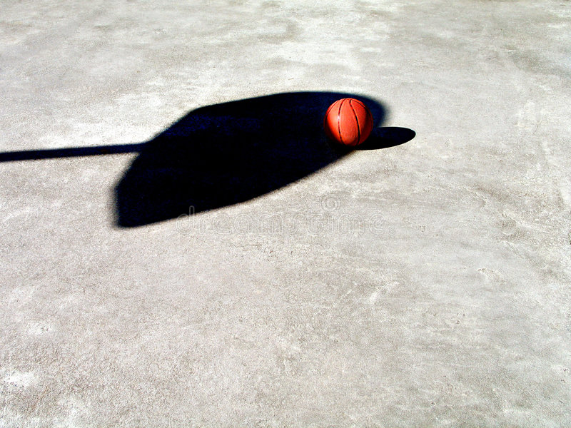 Download Basketball and Net Shadow stock image. Image of shadows - 52897