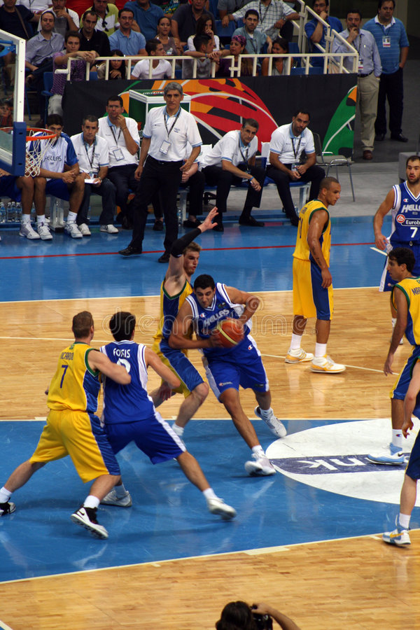 Download Basketball - Olympic Qualifying Games Editorial Stock Photo - Image: 5805148