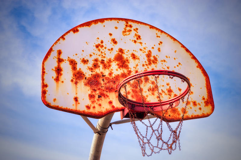 Download Basketball outdoor stock photo. Image of rusty, recreation - 24140134