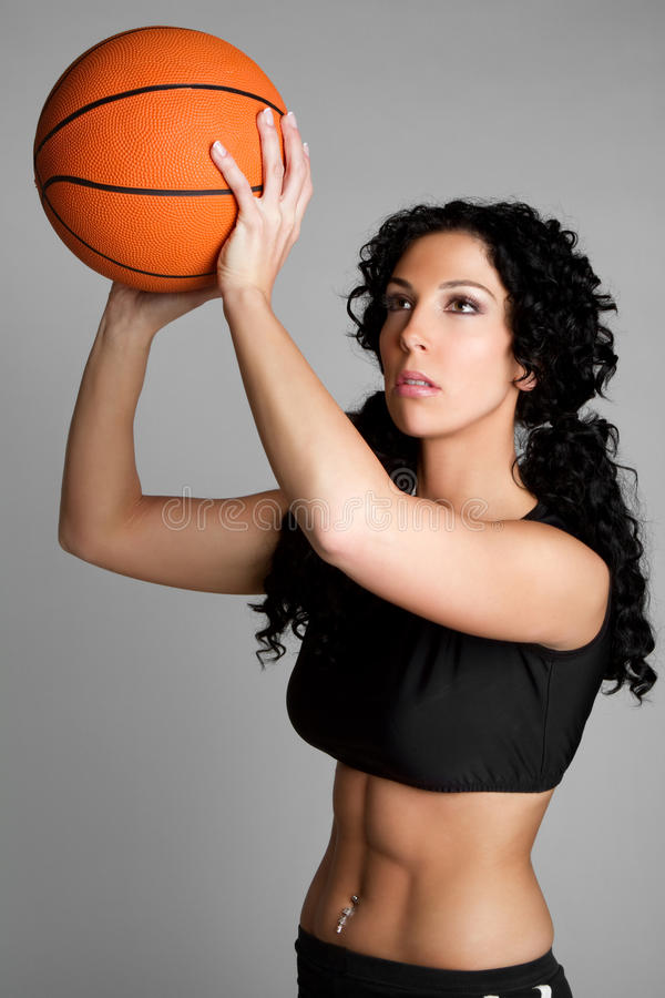 Download Basketball Player stock photo. Image of shooting, curly - 12816484
