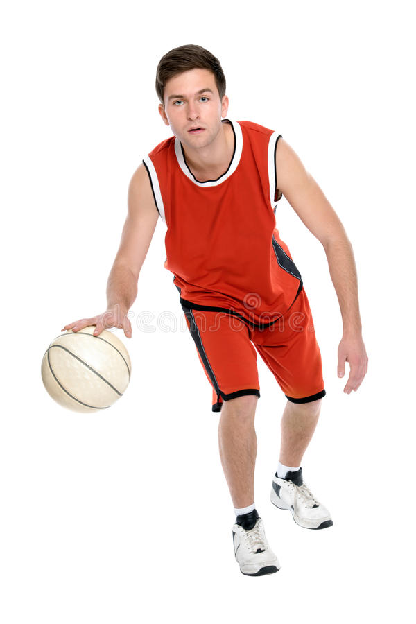 Download Basketball player stock image. Image of exercising, competition - 24735079