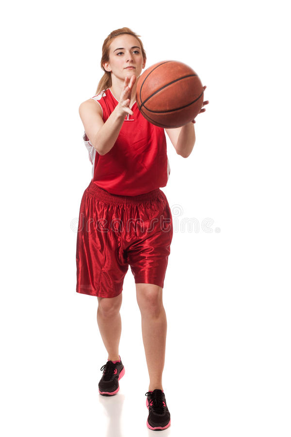 Download Basketball Player stock photo. Image of white, shot, attractive - 29055776