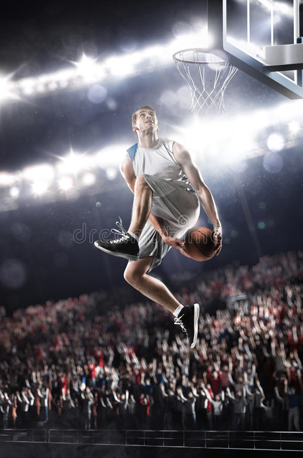 Free Basketball Player Stock Photography - 40781082