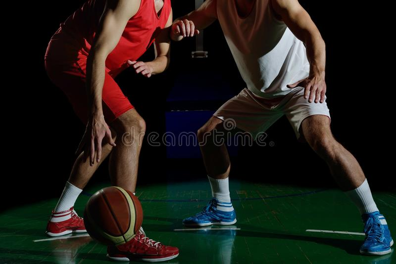 Basketball player portrait royalty free stock photography