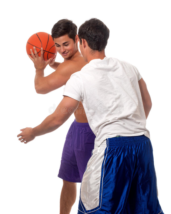 Download Basketball Players stock photo. Image of athletic, brothers - 26921240