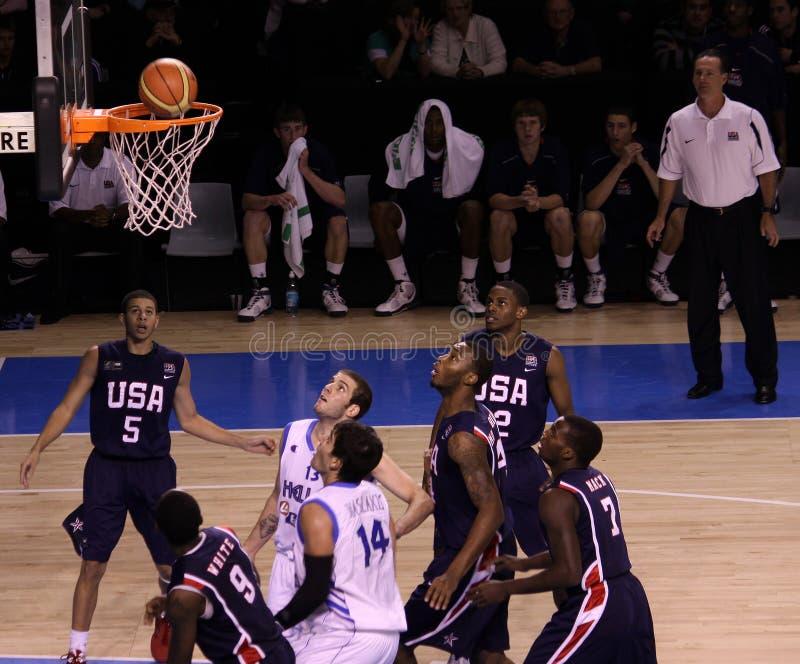 Download Basketball Players Rebounding Editorial Image - Image: 10200275