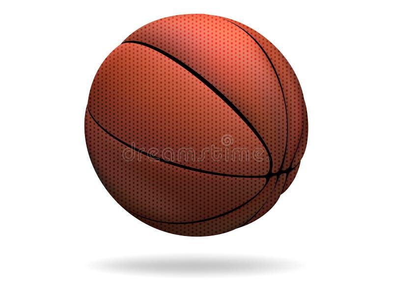 Download Basketball stock vector. Image of closeup, basket, play - 34461069