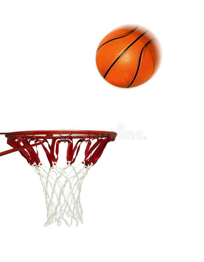 Basketball Score Shoot to Hoop royalty free stock images