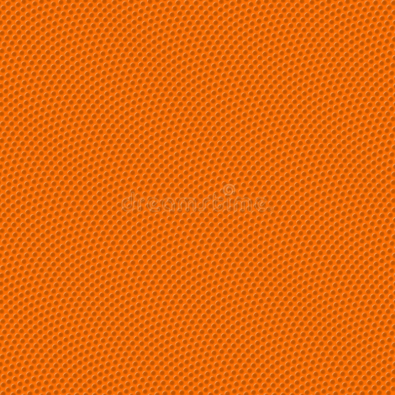 Basketball seamless texture with bumps. Illustration royalty free illustration