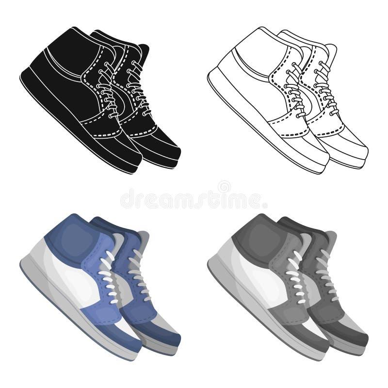 Basketball shoes.Basketball single icon in cartoon style vector symbol stock illustration web. vector illustration