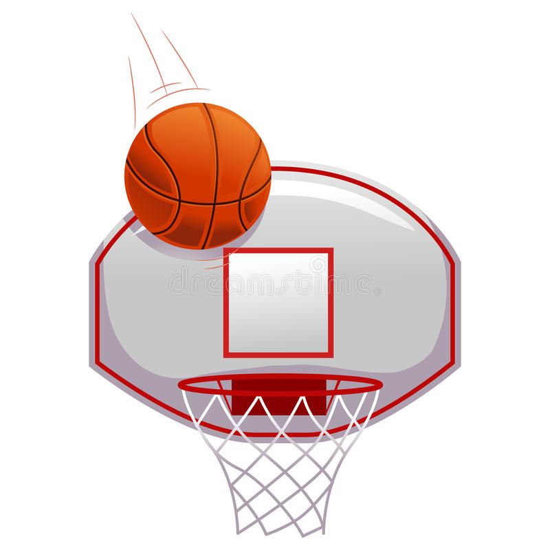 Free Basketball Shot On Ring Royalty Free Stock Photo - 75754895